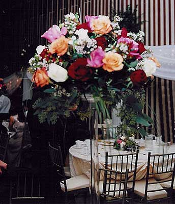 Fabulous Flower Arrangements.  Let All Events Planning Take Care Of All Your Event Needs!